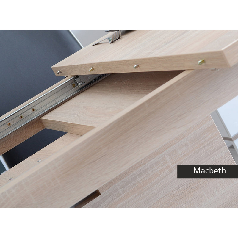 Tavolo allungabile moderno Macbeth, per cucina, sala da pranzo