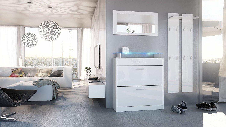 Entrata alice mobili ingresso disimpegno scarpiera specchio - Mobili in specchio ...