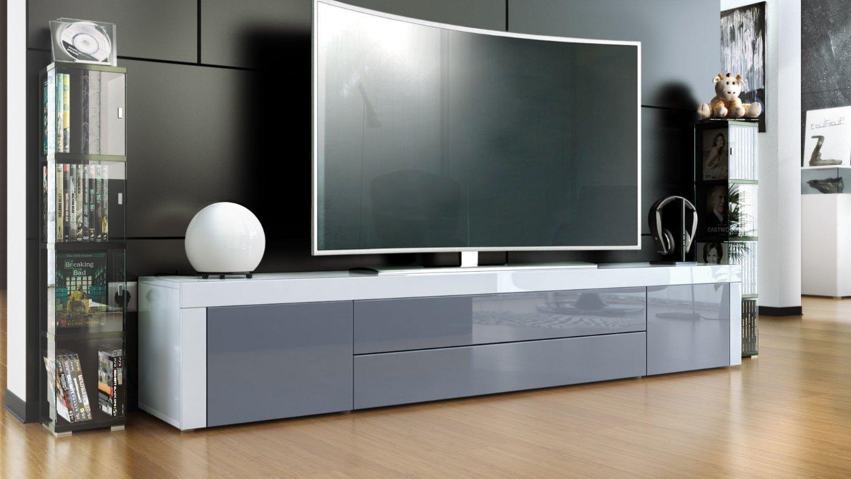 Umago porta tv in 13 colori mobile soggiorno l 200 cm for Mobile sala design