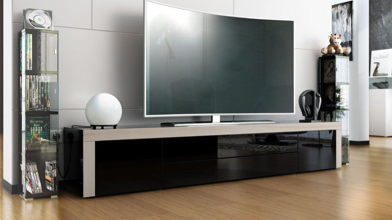 Umago porta tv in 13 colori mobile soggiorno l 200 cm - Mobile soggiorno tv ...