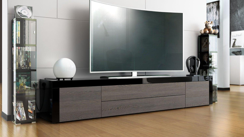 Umago porta tv in 13 colori mobile soggiorno l 200 cm for Mobile da soggiorno moderno