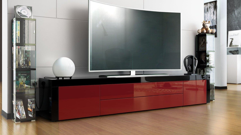 Umago porta tv in 13 colori mobile soggiorno l 200 cm for Mobile moderno sala