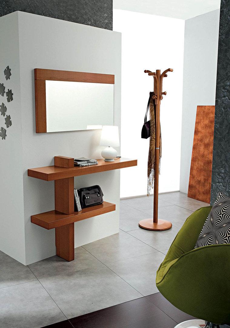 Entrata Lena, mobile moderno con specchio per corridoio, ingresso ...