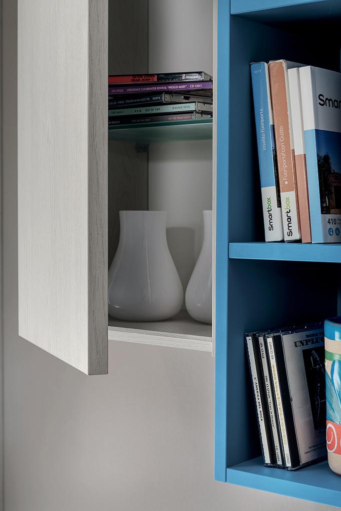 Armadio Libreria Ingresso.Ingresso Colorato Nilo Mobile Moderno Per Corridoio