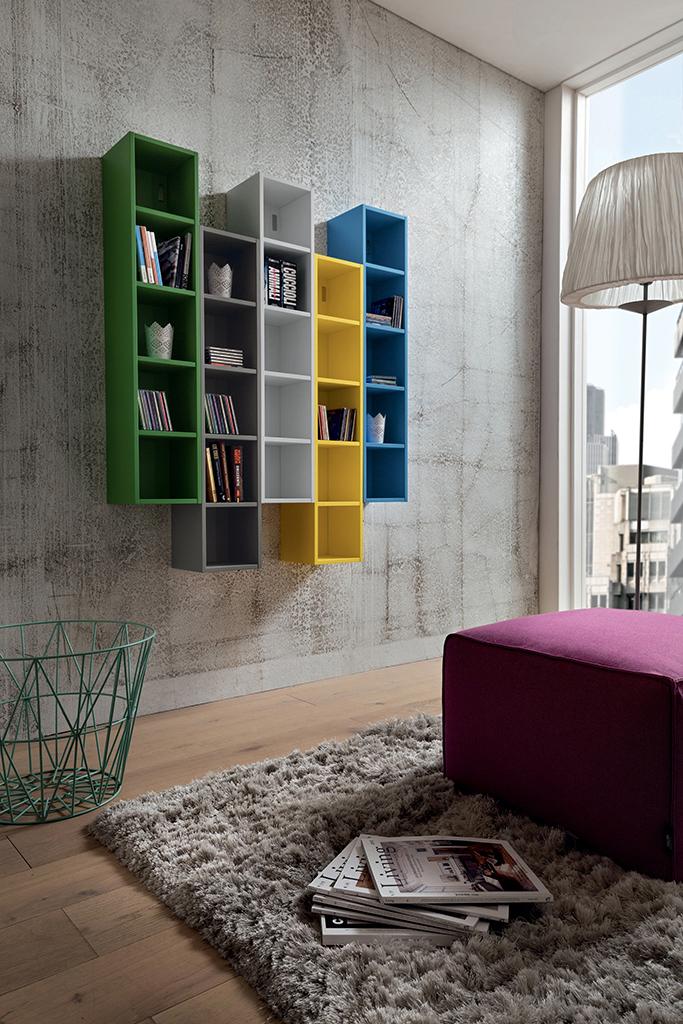 Ingresso colorato nilo mobile moderno per corridoio for Mobili studio moderno