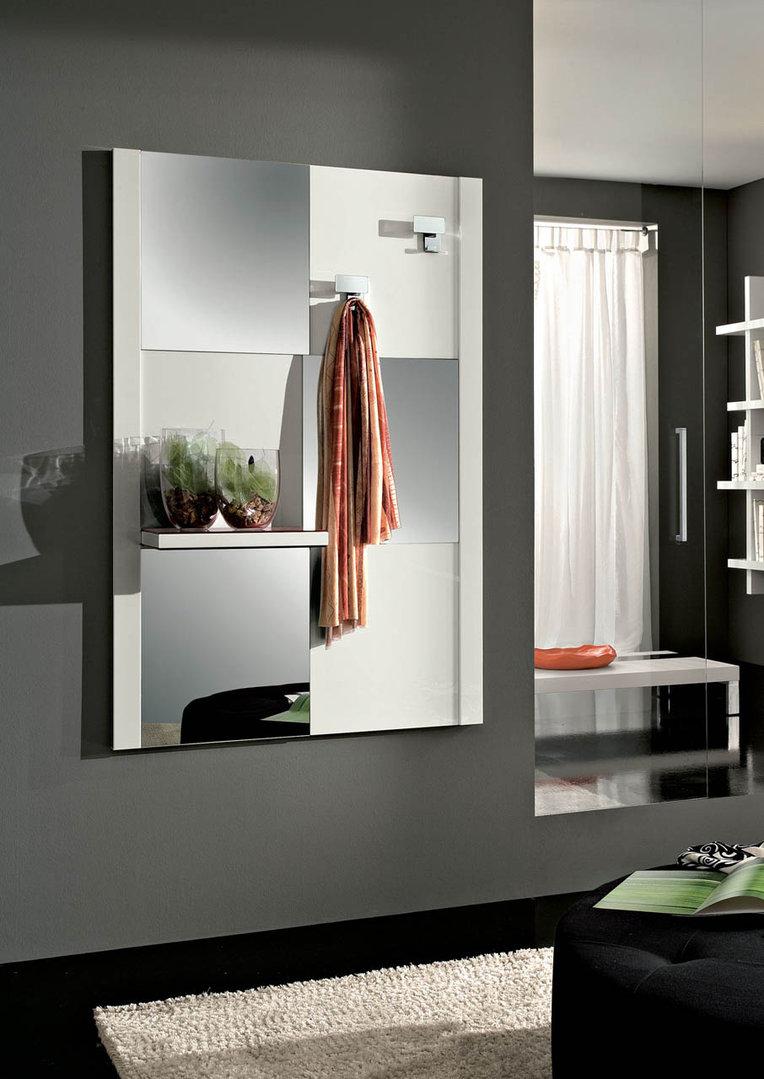 Specchio arno per ingresso corridoio disimpegno con mensola - Mobili per ingressi moderni ...