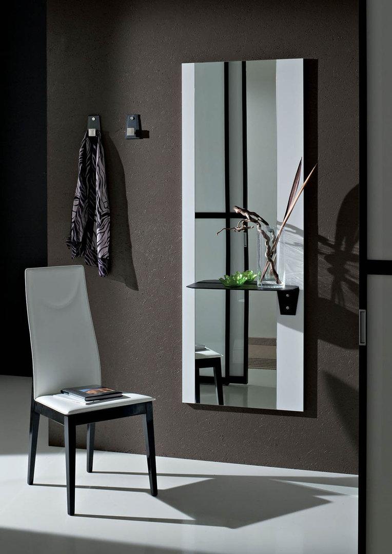 Piave specchio moderno mobile ingresso corridoio con appendini - Specchio ingresso moderno ...