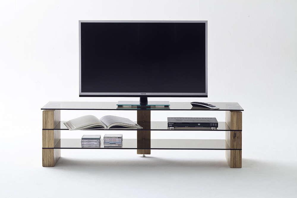 Mobile Porta Tv Cristallo Prezzi.Mobile Porta Tv K592 Cm L140 P40 H40 Finitura Effetto Legno E